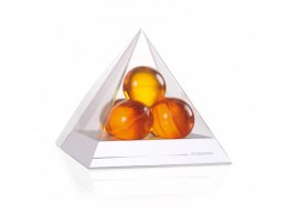 PYRAMIDS WITH BATH OIL BALLS WHITE